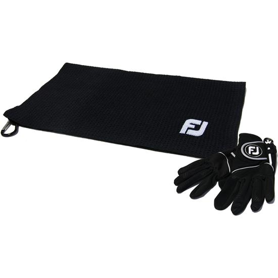 FootJoy Rainy Day Play Bonus Pack w/ Black FJ Rain Towel