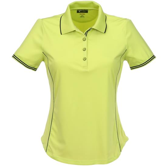 Greg Norman Contrast Trim Polo for Women