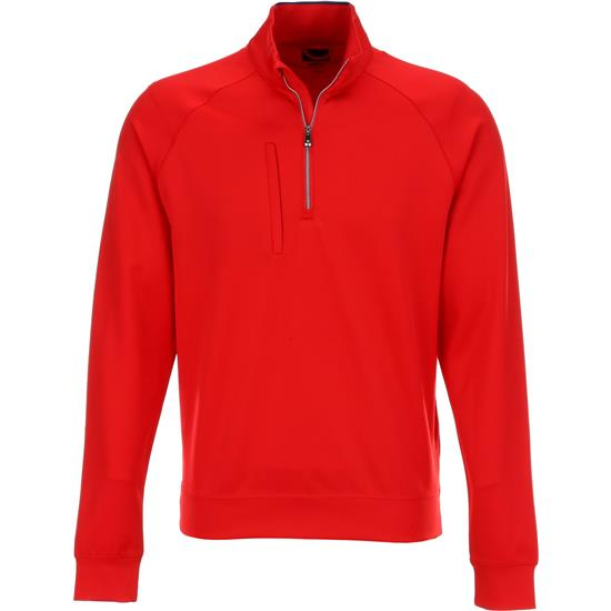 Greg Norman Men's Fashion 1/4-Zip Mock