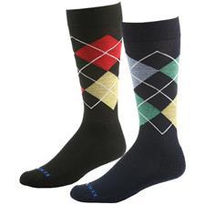 Kentwool Men's 19th Hole Argyle Crew Socks