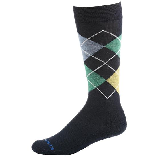 Kentwool Men's 19th Hole Argyle Crew Socks