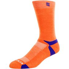 Kentwool Men's Game Day Tour Standard Socks - Orange-Purple-White - Large (8-11)