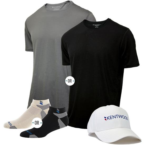 Kentwool Men's Tour Profile Father's Day Bundle - 10 Pack