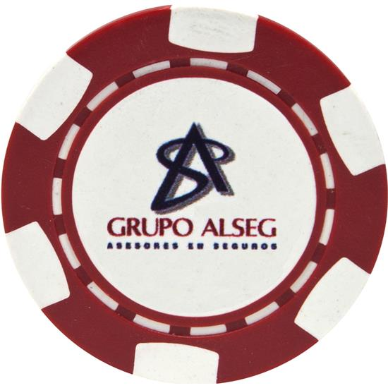 Logo 6-Stripe Logo Overrun Poker Chip Ball Marker