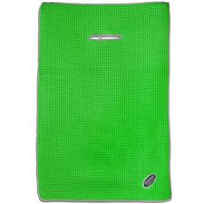 Microfiber Performance Personalized Golf Towel - 15x23 - Neon Green