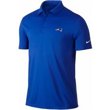 Nike New England Patriots NFL Logo Victory Solid Polo