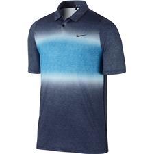 Nike Men's TW Velocity Glow Stripe Polo Manufacturer Closeout