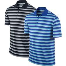 Nike Men's Tech Vent Stripe Polo Manufacturer Closeout