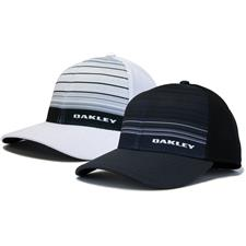 Oakley Men's Silicon Bark Trucker 4.0 Print Hat