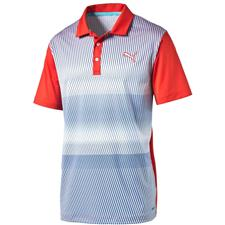 Puma Men's GT Brush Stripe Polo
