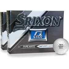 Srixon Q-Star Pure White Golf Balls - 2 Dozen
