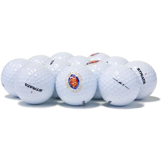 Strata Mixed Logo Overrun Golf Balls