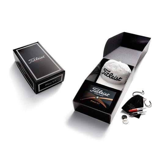 Titleist Custom Half Dozen Gift Box with Logo Hat