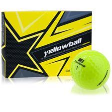 U.S. Kids Yellowball Dozen ID-Align Golf Ball