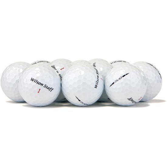 Wilson Staff Duo Logo Overrun Golf Balls