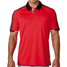Adidas Men's ClimaChill 3-Stripes Competition Polo