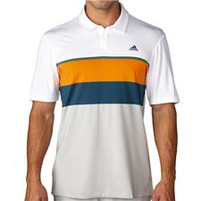 Adidas Men's ClimaCool Engineered Stripe Polo