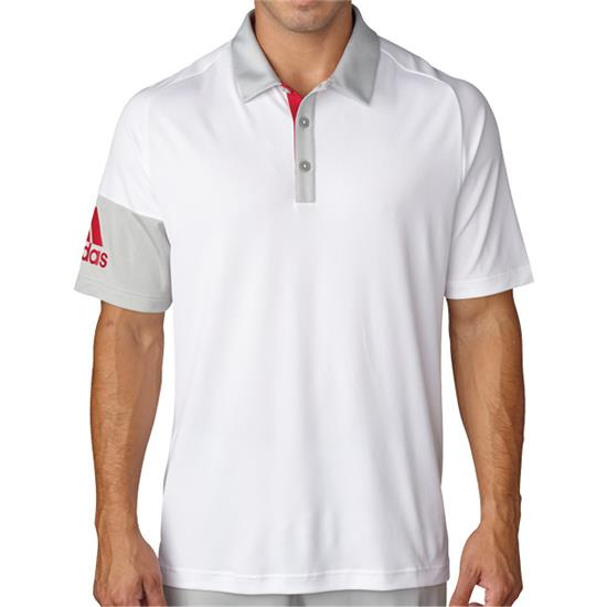 Adidas Men's ClimaCool Sleeve Block Polo