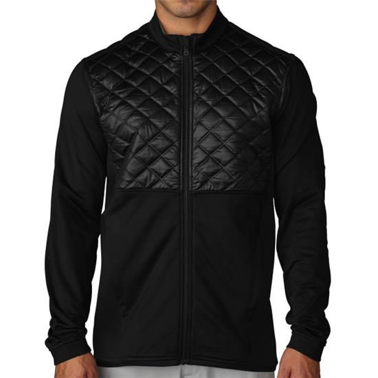 Adidas Men's ClimaHeat Prime Quilted Full Zip Jacket