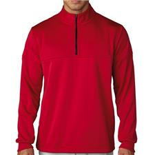 Adidas Men's ClimaWarm Textured Dot 1/2 Zip Layering
