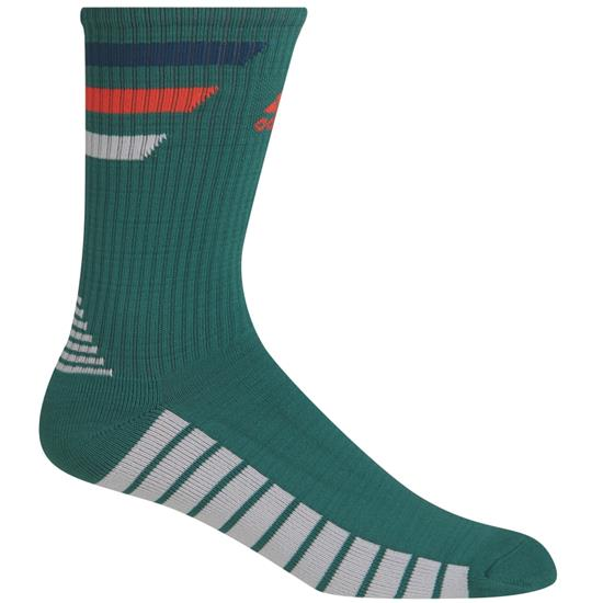 Adidas Men's Single 3-Stripe Crew Sock