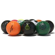 Blank Colored Logo Overrun Golf Balls