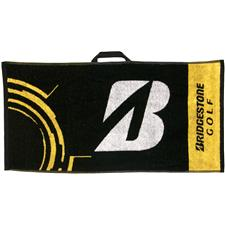 Bridgestone BSG Staff Towel - Black-White-Yellow