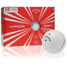 Callaway Golf Chrome Soft Furyk #58 Golf Balls