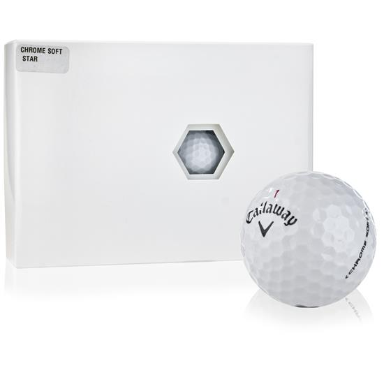 Callaway Golf Chrome Soft Star Tour Select Golf Balls