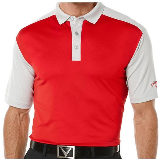 Callaway Golf Men's Opti-Dri Blocked Polo