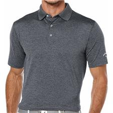 Callaway Golf Men's Opti-Stretch Heather Solid Polo