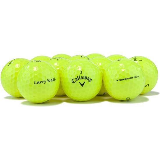 Callaway Golf Superhot 55 Yellow Golf Balls