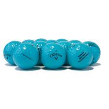 Callaway Golf Logo Overrun Supersoft Blue Golf Balls
