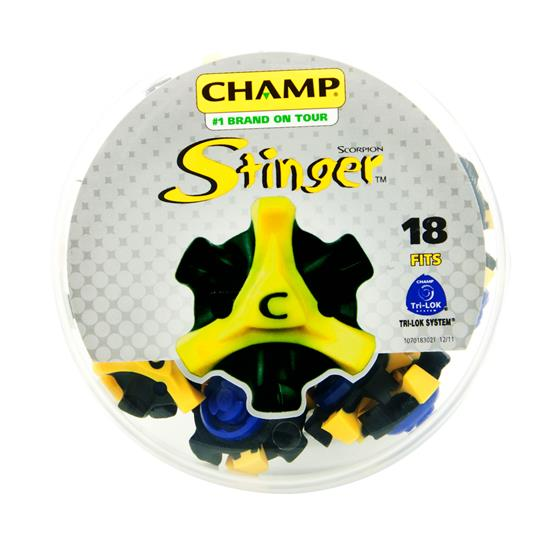 Champ Golf Scorpion Stinger Golf Spikes - TriLOK - Fast Twist