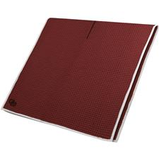 Club Glove Microfiber Monogram Caddy Towel - Burgundy-White