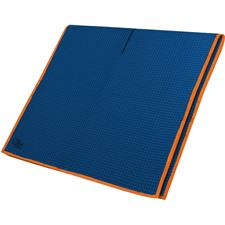 Club Glove Microfiber Monogram Caddy Towel - Royal-Orange
