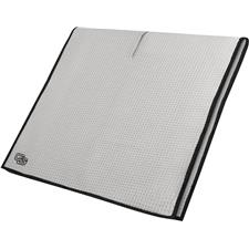 Club Glove Microfiber Monogram Caddy Towel - White