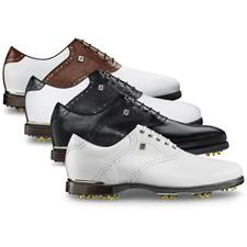 FootJoy Wide Icon Black Lizard Print Golf Shoes