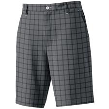 FootJoy Charcoal-Black Performance Plaid Shorts Previous Season Model