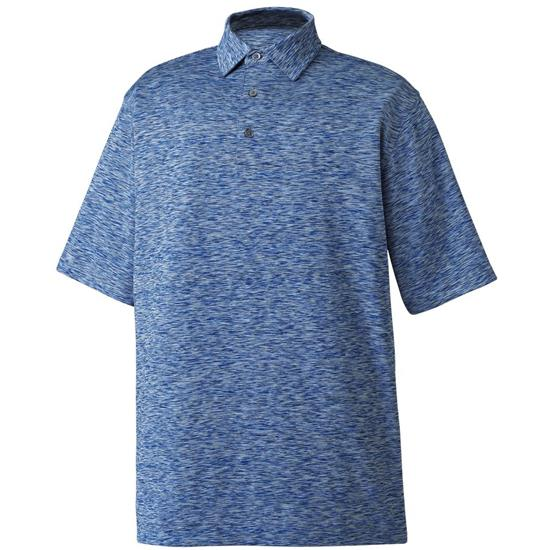 FootJoy Men's Three Color Space Dye Lisle Self Collar Polo