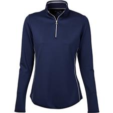 Greg Norman 1/4 Zip Piped Pullover for Women