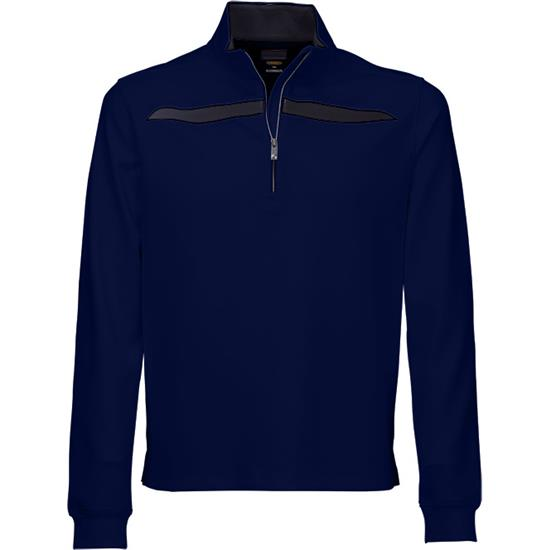 Greg Norman Men's Fashion 1/4 Zip Mock
