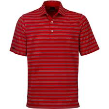 Greg Norman Men's ML75 Stretch Stripe Polo