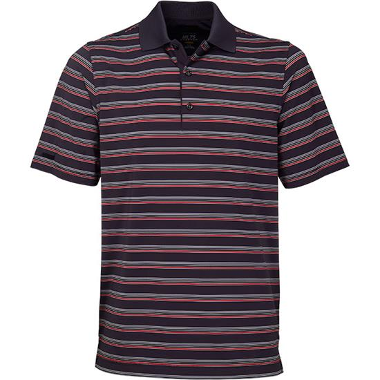 Greg Norman Men's Monte Carlo ML75 Stretch Stripe Polo