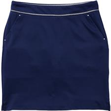 Greg Norman Ribbon Trim Knit Skort for Women