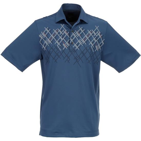 Greg Norman Men's Screen Print Polo