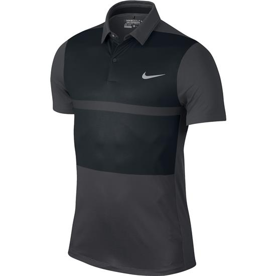 Nike Men's MM Fly Framing Block Polo Manf. Closeout