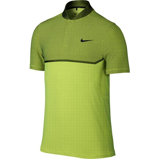 Nike Men's MM Fly Swing Knit Block Alpha Polo Manf. Closeout