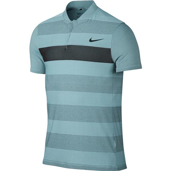 Nike Men's MM Fly Swing Knit Stripe Alpha Polo