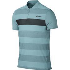 Nike Men's MM Fly Swing Knit Stripe Alpha Polo